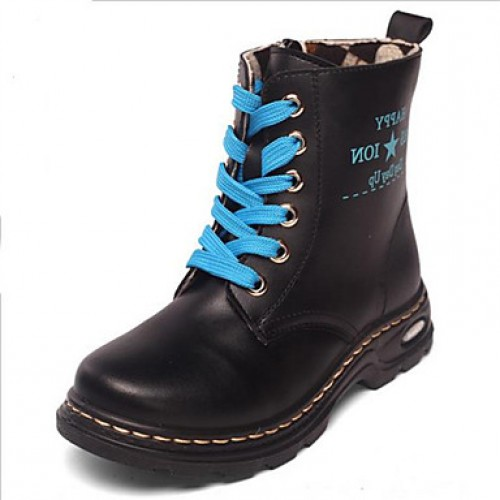 Children & #039;S Shoes Casual Boots Black/Blue/Red