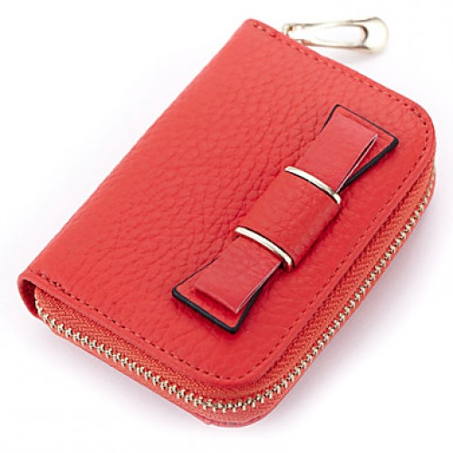 Women Cowhide Formal/Sports/Casual/Event/Party/Outdoor Card & Id Holder/Coin Purse/Business Card Holder