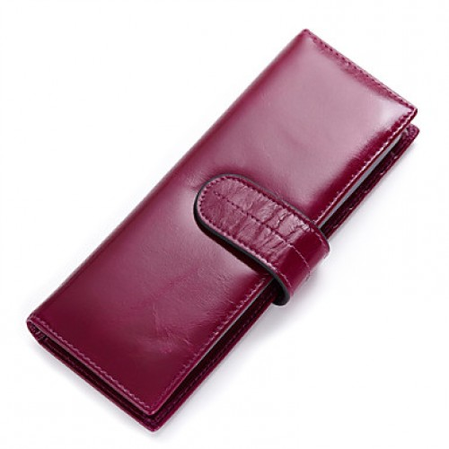 Unisex Cowhide Formal/Sports/Casual/Event/Party/Outdoor Card & Id Holder/Business Card Holder