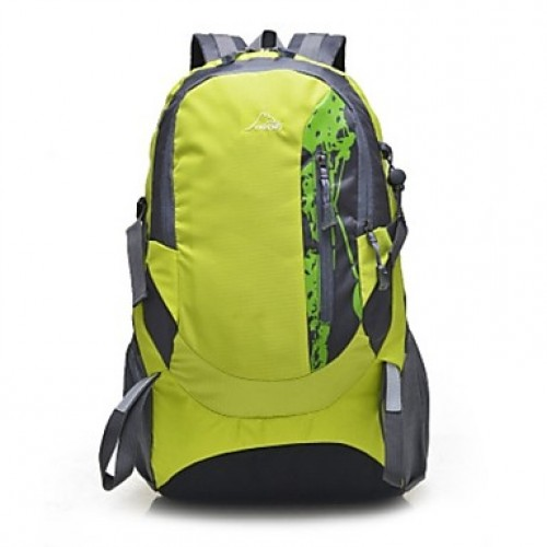 Unisex Canvas Sports/Outdoor Backpack/Sports & Leisure Bag/Travel Bag-Blue/Green/Black