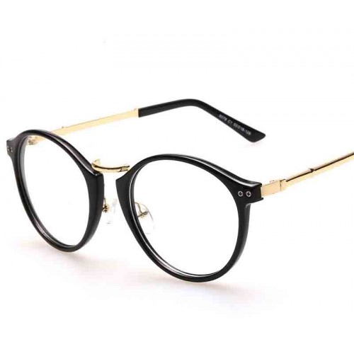 Promotional new models Men Women glasses plain mirror fashion personality Fashionable glasses discounts 8078