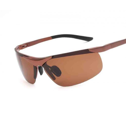 Special promotional material men riding mirror driver polarizer sunglasses 6806