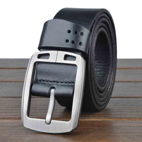 Popular men's leather belt men first layer of leather belt casual belt promotional discounts