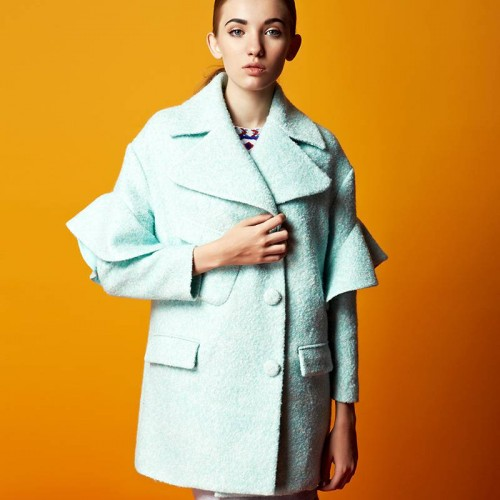 Ms. autumn new models in Europe and the United States market, the low prices of the original single thick loose-style jacket lady long-sleeved coat style