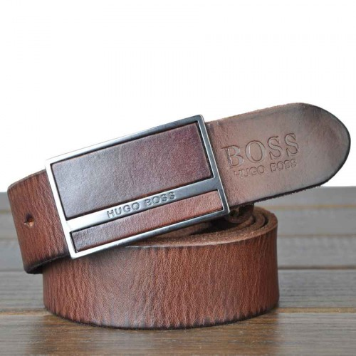 Low price new style men's leather belt attached Pippi lead layer of leather men's casual belt boss belt