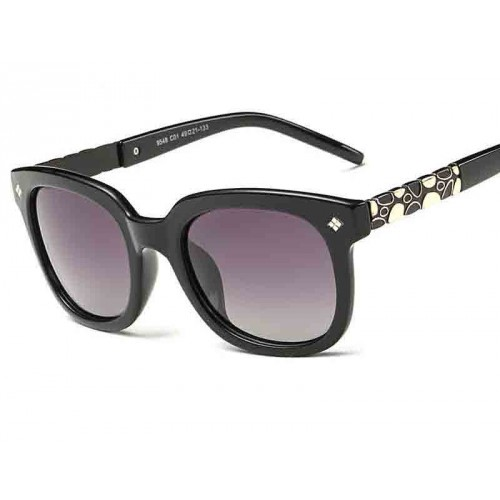 P9548 new style lady fashionable polarized sunglasses classic large frame sunglasses driving mirror