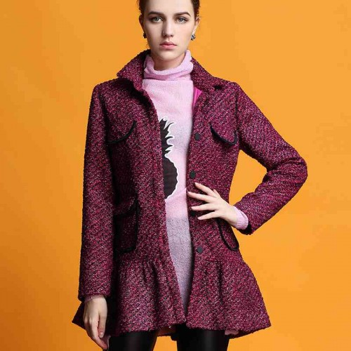 European market and the US market lower prices of the original single ladies autumn new models Slim lapel single-breasted slim long-sleeved jacket, Ms. formula