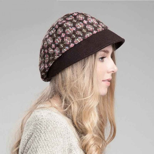 Popular autumn and winter hat lady hat wool material all match ladies fashion warm winter hat