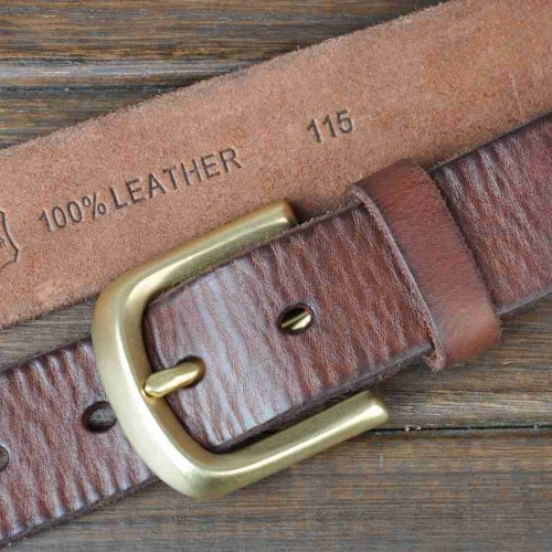 Popular new style leather belt men's leather belt first layer of leather belt buckle washed Online shopping 9014 Men's Belts