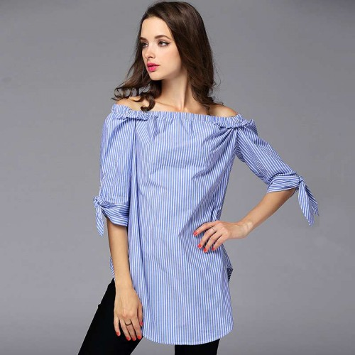 Summer new models in Europe and the US market fashion all match the shape of the word loose shirt collar temperament small coat Ms.