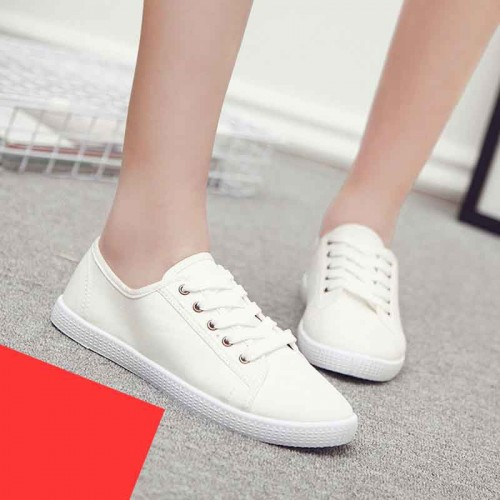 Ms. help low canvas shoes white white shoes brand shoes autumn new models casual canvas shoes discount