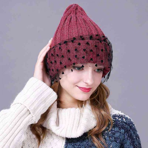 New style fashion hat yarn European market and the US market fall and winter hat lady simple knit hat wool hat warm minimalist discounts