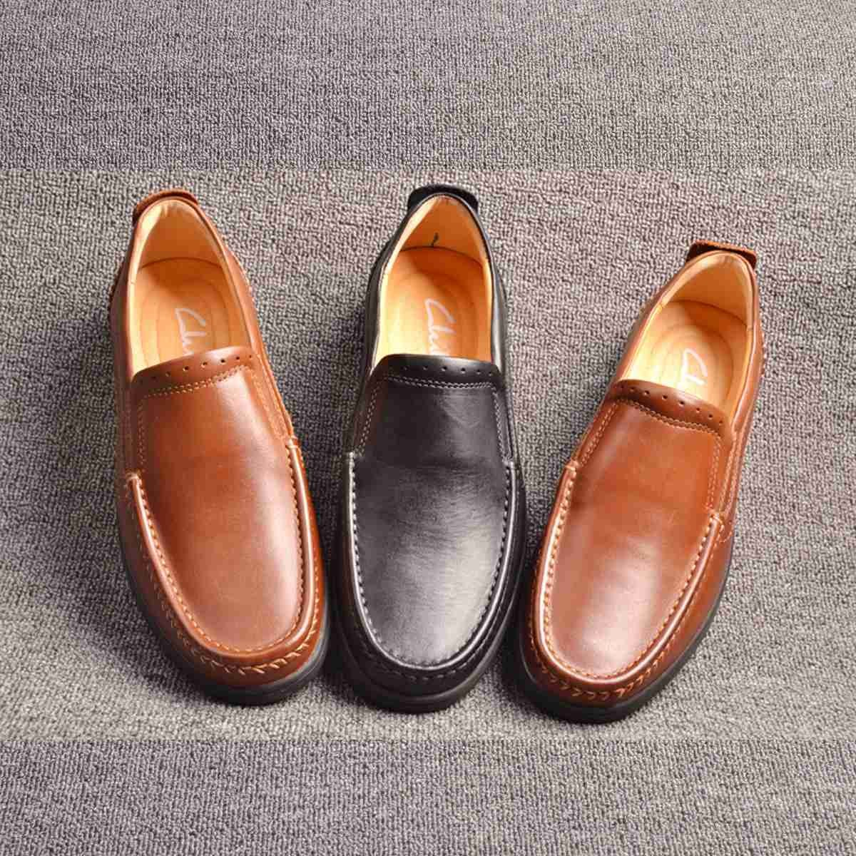 men leather shoes brand shoes