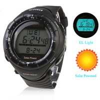 Men & #039;S Watch Sports Solar Powered Multi-Function Luminous Back-Light