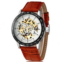Men & #039;S Watch Auto-Mechanical Hollow Engraving