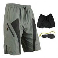 Santic-Mens & #039; Cycling Shorts/Baggy Shorts With Underwear Quick Dry With 3D Pad