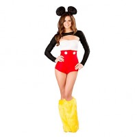 Sexy & Cute Mickey Women & #039;S Halloween Costume