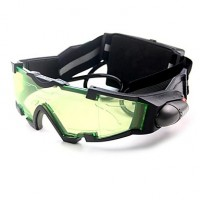Night Vision Goggles With Flip-Out Blue Led Lights