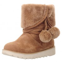 3 Color Women & #039;S Cute Mid-Calf Snow Boots