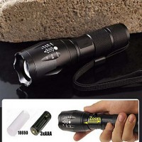 Led Flashlights/Torch/Handheld Flashlights/Torch Led 5 Mode 2000/1200/1600 Lumens Waterproof/Rechargeable/Nonslip Grip Cree Xm-L T6