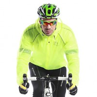 Mysenlan Men & #039;S Breathable Material Long Sleeve Cycling Raincoat