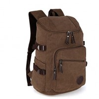Wowang Men & #039;S Fashion High Quality Waterproof Canvas Outdoor Traveling Backpack Bag