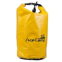Outdoor Camping Waterproof Drift Dry Bag With Shoulder Strap 47X21 cm 10L (Orange Yellow Blue Black)