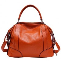 Popular Sale Woman Cowhide Handbag Lady Real Leather Shoulder Bag