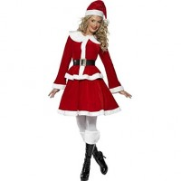 Christmas Girl Red Santa Suit
