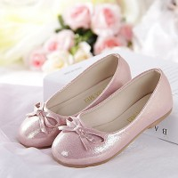 Girl & #039;S Shoes Wedding Shoes Comfort Flats Wedding/Outdoor/Dress/Casual/Party & Evening Pink/Silver/Gold