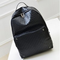Unisex & #039;S PU Weekend Bag Backpack- Black