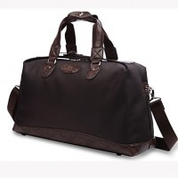Men Nylon Outdoor Travel Bag- Brown