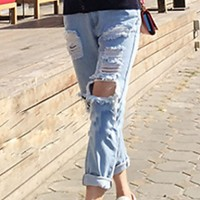 Women Sexy Casual Cute Jeans