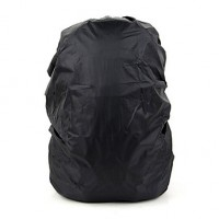 N/A L Pack Covers Camping & Hiking Waterproof Black Terylene N/A