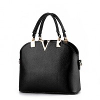 Women & #039;S Fashion Casual PU Leather Shell Messenger Shoulder Bag/Tote