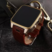 1.2 Ghz Android 4.4.2 Bluetooth 4.0 Smart Watch(Sapphire Glass, Pedometer, Heart Rate, Waterproof, Anti-Lost)