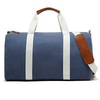 Women Canvas Casual/Outdoor/Professioanl Use Shoulder Bag/Tote/Clutch/Travel Bag- Beige/Blue/Black