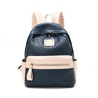 New Fashion PU Material Women Girls Casual Backpack Shoulder Bag For Travel