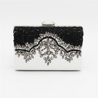 PU Baguette Clutch/Evening Bag- Multi-Color
