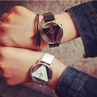 2017 Fashion Simple Unisex Couple & #039;S Watches Student Men Or Women Skeleton Watch (Assorted Color)