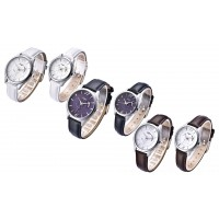 Quartz Waterproof Fashion Classic Business Leather Casual Lovers Watch