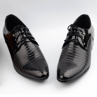 Men's breathable leather shoes business shoes