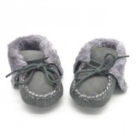 Unisex Toddler Baby & #39;S Winter Shoes Boy Girls Snow Shoes High Ankle Cut Boots