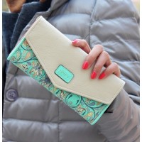Luxury Long Fashionable Designer Famous Brand Clutch Ladies Leather Women Wallets Female Purse Handy Bag Card Holder Money Carteras Walet