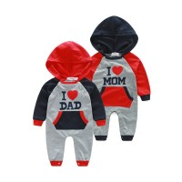 Fast shipping promotion autumn and winter long-sleeved hooded jumpsuit jumpsuit