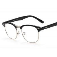 G8056 new models influx of people in Europe and the US market material metal retro glasses glasses plain mirror discounts