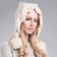 The new autumn and winter fashion style warm hat lady simple knit hat winter hat wool cap