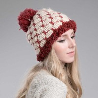 Ms. autumn and winter fashion hats simple knit cap warm minimalist wool cap
