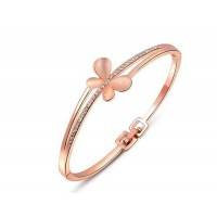 Europe and the US market can be like the cat's eye gemstone fashion jewelry, like Ms. discount jewelry rose gold butterfly style bracelet low price fast delivery
