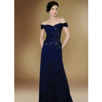 The new style evening dress long style dress performance dress word shoulder bride toast clothing discount dress chaired